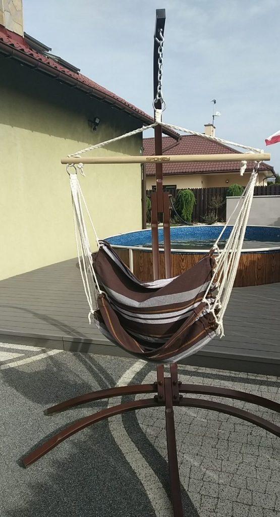 Metalowy stelaż na krzesło brazylijskie – Motyl
